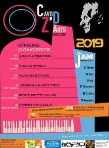 JAZZ affiche programme 2019